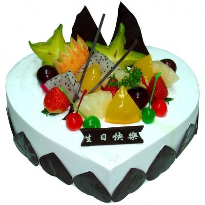 菏泽生日蛋糕:依恋