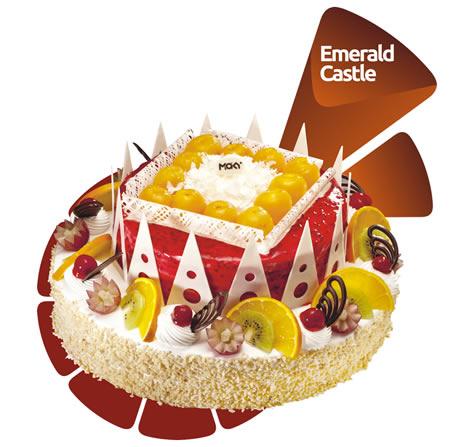 米旗 翡翠城堡
