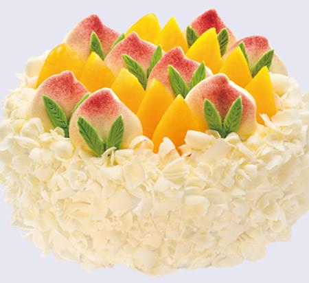 无糖蛋糕 福禄寿