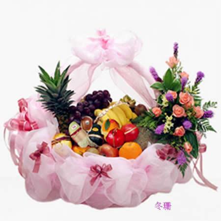 东莞水果篮:淡雅