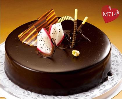 富阳巧克力蛋糕:浓情