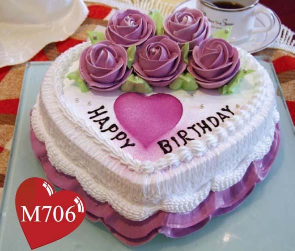 鼓楼生日蛋糕:深深爱恋