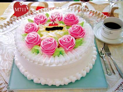 东莞生日蛋糕:幸福快乐