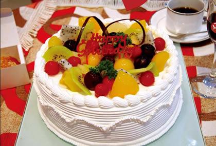 富阳水果蛋糕:依恋