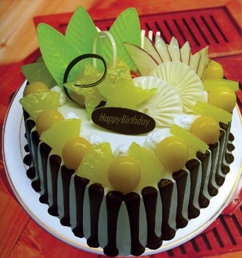 菏泽生日蛋糕:深情