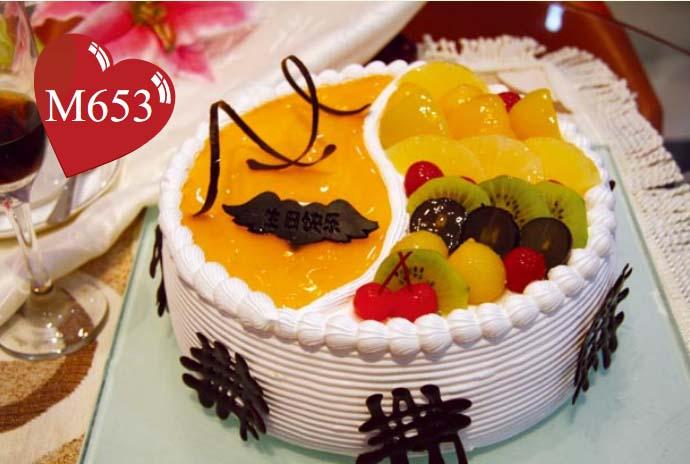 南昌生日蛋糕:心的问候