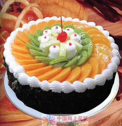 定州生日蛋糕:缘分天空
