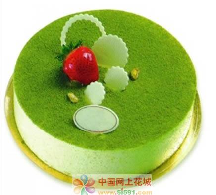 蛋糕:绿色烂漫
