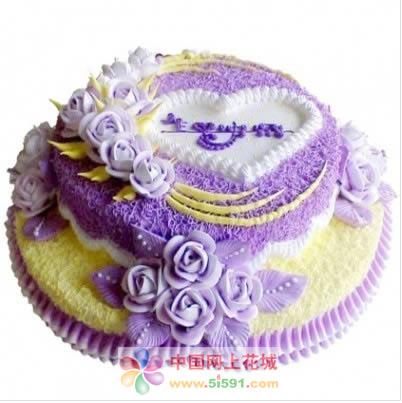 南京生日蛋糕:欢快音符