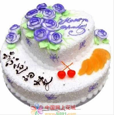 延吉生日蛋糕:紫色的梦