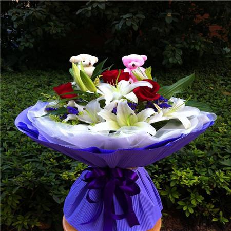 定州鲜花礼品鲜花-真情永久