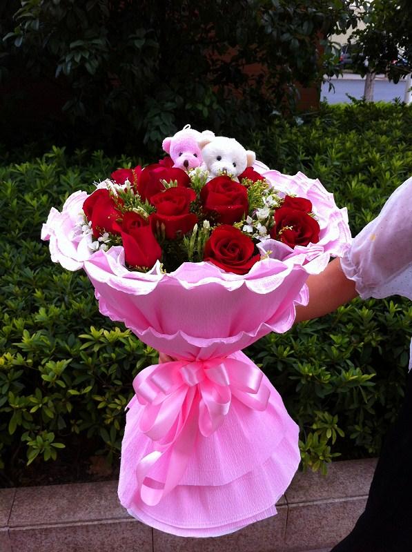 南京鲜花:爱你的心