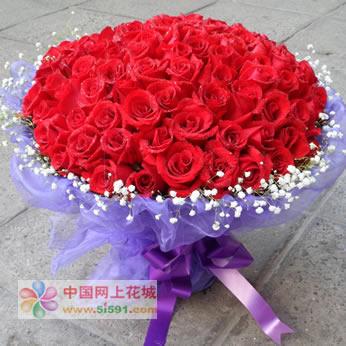 东莞鲜花:因为爱情