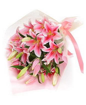 合肥鲜花:百合风情