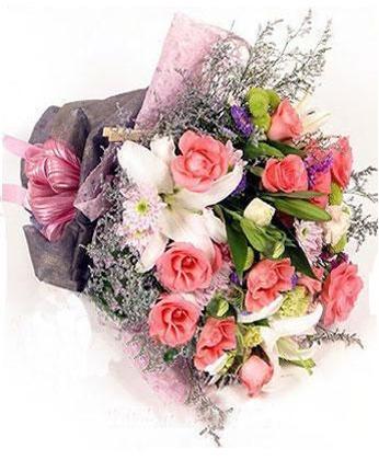 鼓楼鼓楼送花:深切的祝福