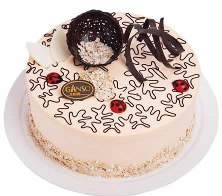 元祖蛋糕-黄金燕麦香芋