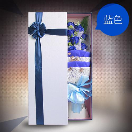 曲靖肥皂花:香皂花礼盒单蓝色