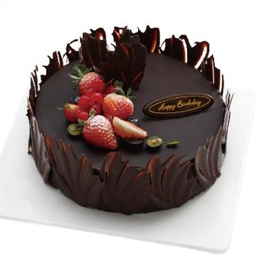 富阳巧克力蛋糕:巧克力的爱恋