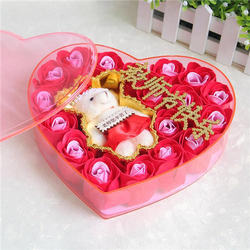 南京肥皂花:18朵香皂花老师款红色
