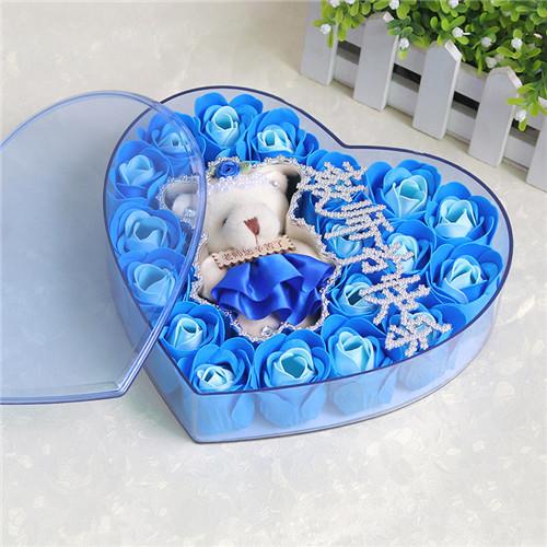 曲靖肥皂花:18朵香皂花老师款蓝色