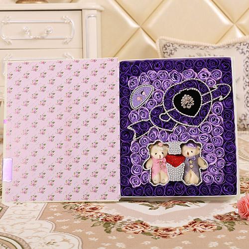 玉林肥皂花:一箭穿心+牵手熊 紫色