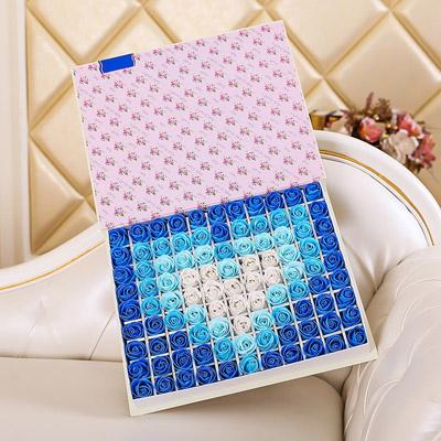 合肥肥皂花:肥皂花-心形蓝色