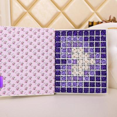 合肥肥皂花:肥皂花-心形紫色