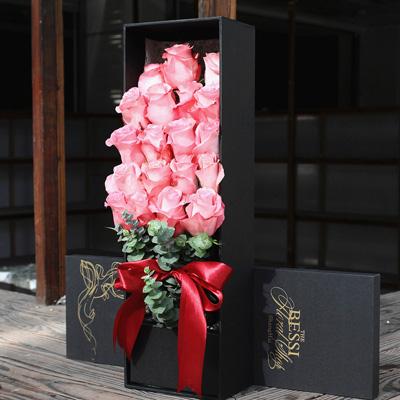 合肥永生花:进口花-粉色的热恋