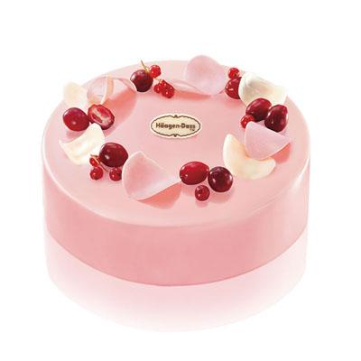 哈根达斯 冰淇淋蛋糕 蔓越莓舞