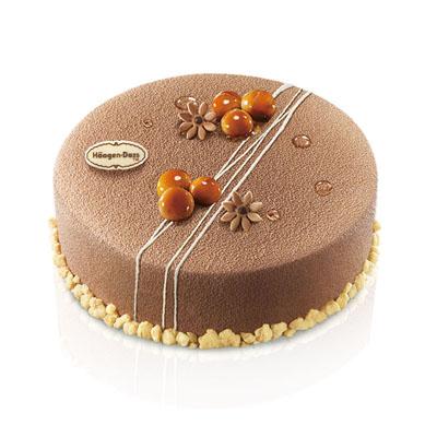 哈根达斯 冰淇淋蛋糕 夏果仁甜梦