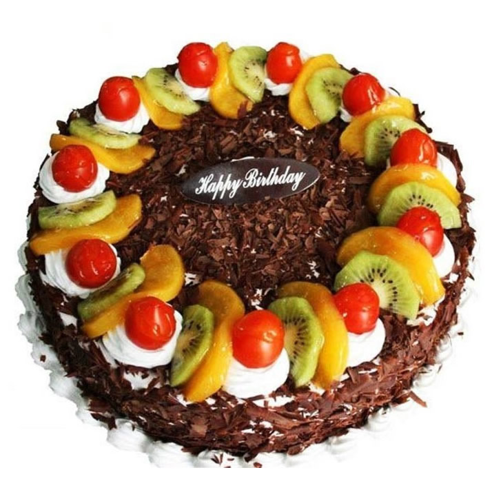 富阳巧克力蛋糕:生日水果蛋糕