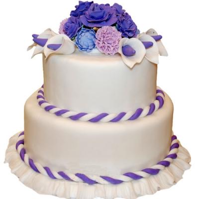 翻糖蛋糕 温馨你我