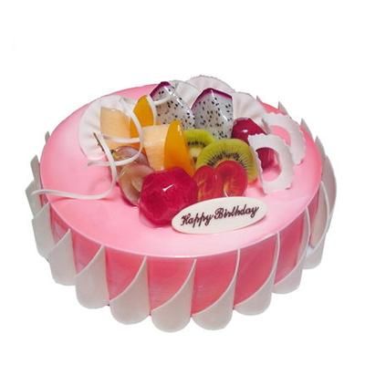 富阳富阳生日蛋糕-粉色甜蜜