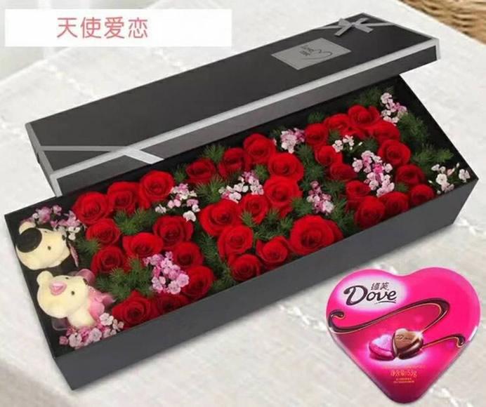 蔚山网上订购鲜花,蛋糕,花蓝!