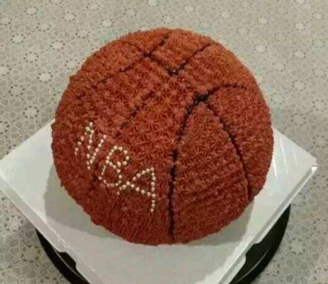 篮球蛋糕-快乐的心