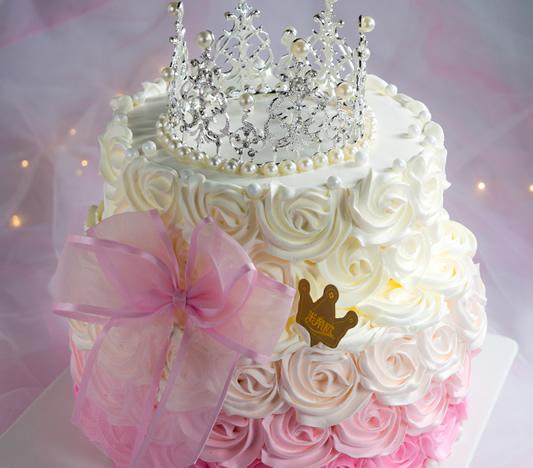 蛋糕:皇冠生日蛋糕创意定制